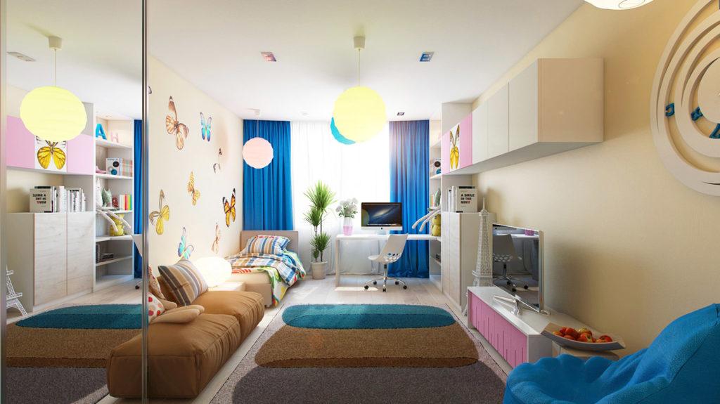 Освещение в детскую комнату фото 1
