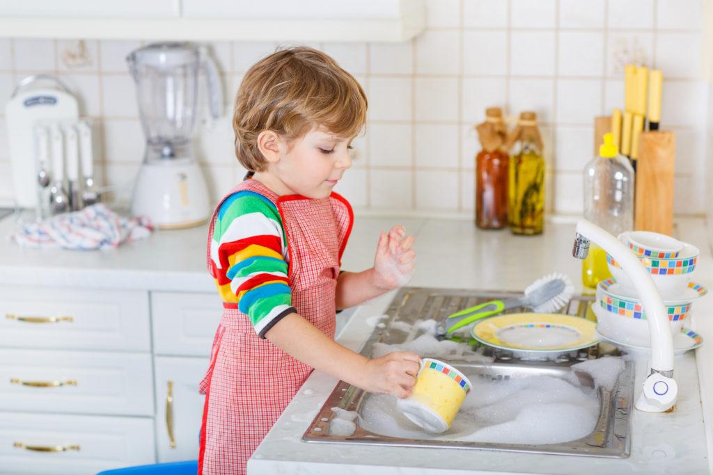 очистить посуду 1